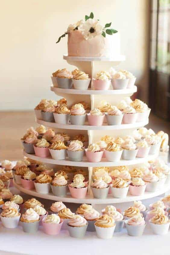 Cupcakes Tower Cake