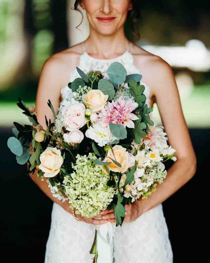 Freeform Wedding Bouquet
