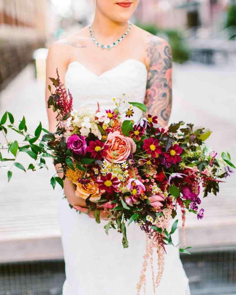Fun Wedding Bouquet