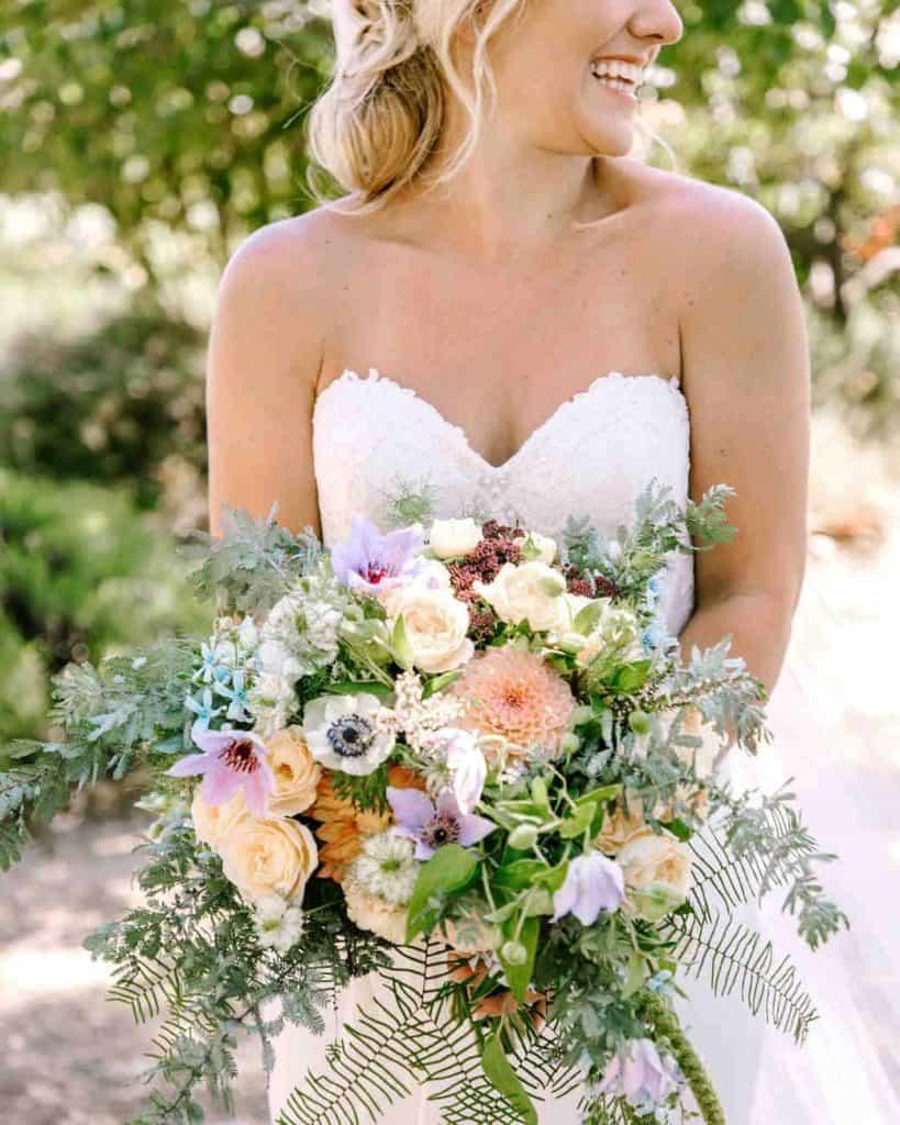 Soft Wedding Bouquet