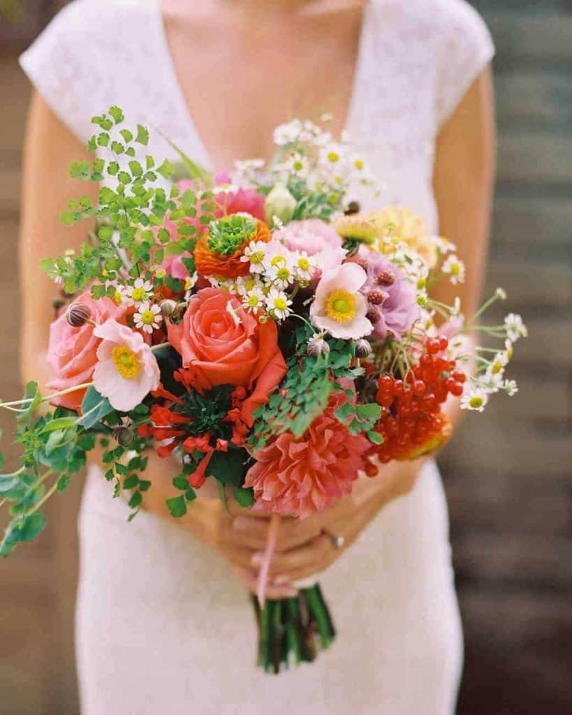 Varied Wedding Bouquet